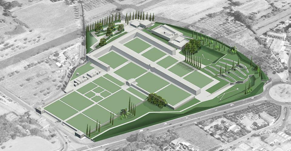 Concorso di progettazione - Parco Cimiteriale e Tempio Crematorio a Chiesanuova - Prato - Primo premio