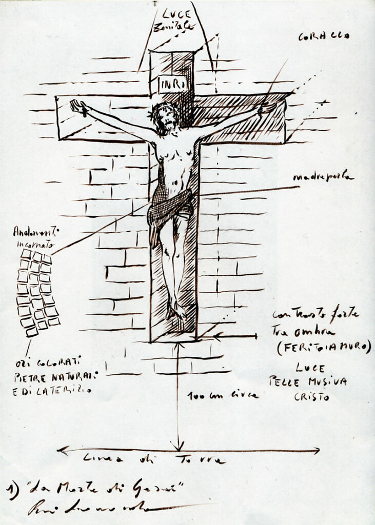 La morte di Gesù - Concorso Chiesa a S. Nicolò in Trebbia