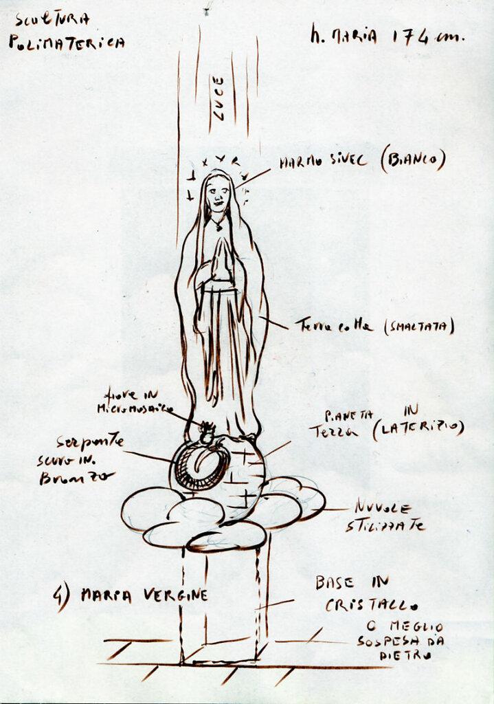 Maria Vergine - Concorso Chiesa a S. Nicolò in Trebbia