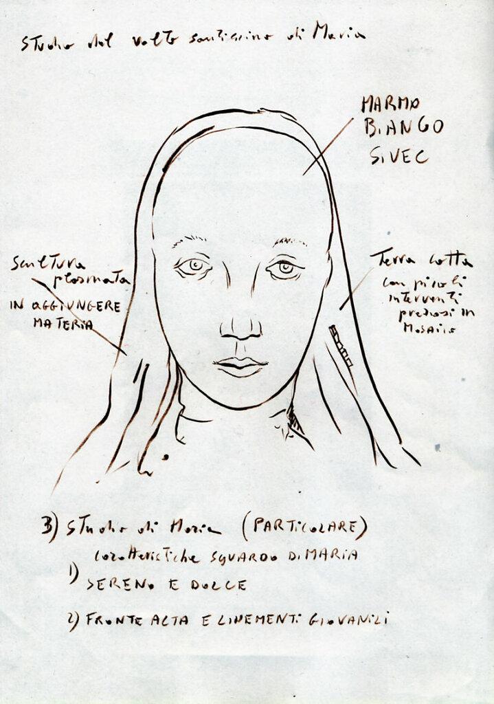 Volto di Maria Vergine - Concorso Chiesa a S. Nicolò in Trebbia