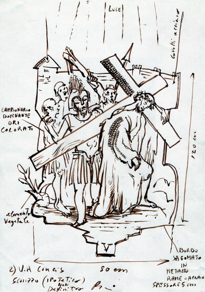 Via crucis - Concorso Chiesa a S. Nicolò in Trebbia