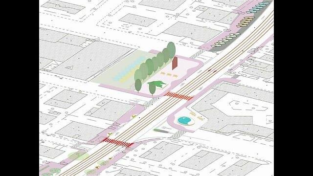 Opere collaterali al Tram SIR1: riqualificazione delle sedi viarie in via Guizza a Padova