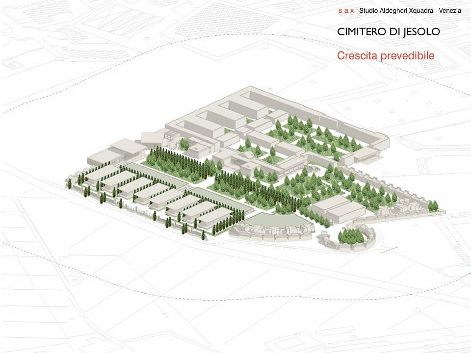 Ampliamento del cimitero di Jesolo, Venezia - 2° stralcio