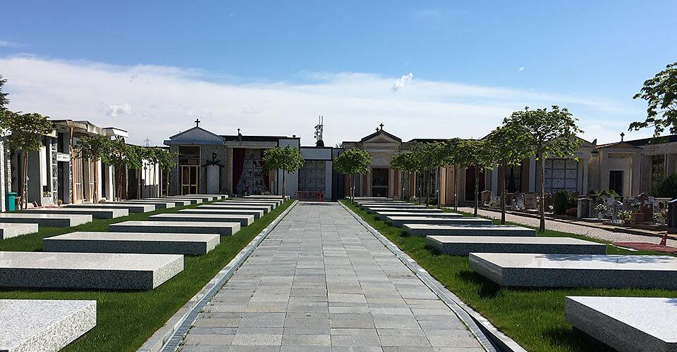 Sepolcri di Famiglia - Ampliamento del Cimitero di Jesolo (Venezia)